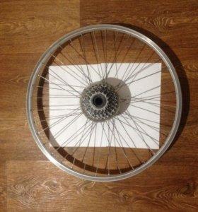"""Колесо велосипедное заднее под 24"""" колесо"""