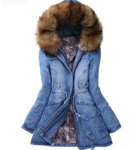 Куртка деним