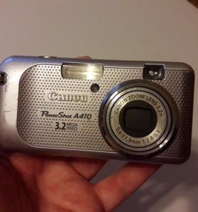 Фотоаппарат Canon PowerShot A410