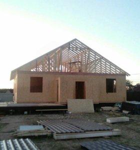 Строительство:дома,беседки,бани....