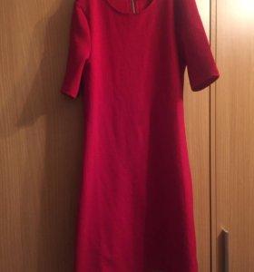 Платье красное HM