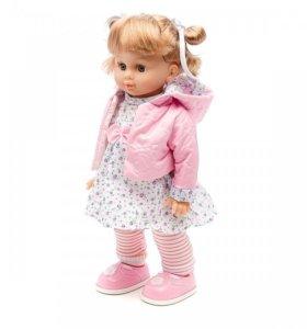 Интерактивная кукла Настенька, ходит и танцует.
