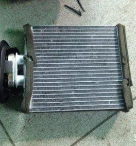 Радиатор печки Поло седан