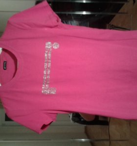 блуза розового цвета