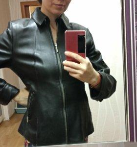 Кожаная куртка натуральная фасон красивый