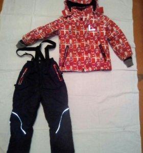 Костюм комбинезон + куртка детский