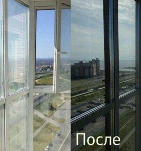 Моем окна с 2011-го года. Недорого.