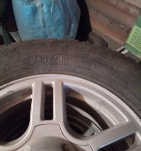 Колеса на УАЗ Патриот