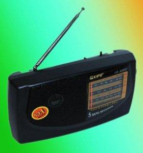Радиоприемник KIPO KB-308AC новый доставка