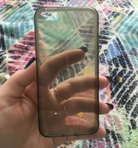 Чехол на айфон 5,5s силиконовый