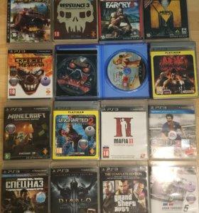 PS3 500гб 50 игр!