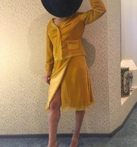 Велюровый костюм женский