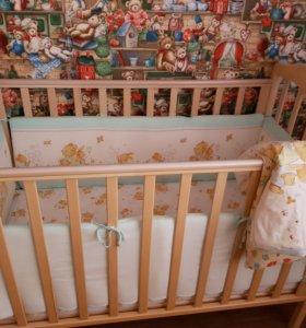 Детские кроватки Березка.