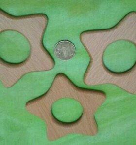 Деревянные пуговицы, грызунки