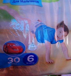 Huggies трусики для мальчиков 16-22кг (6)