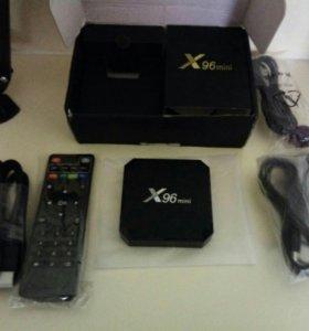 ТВ бокс X96 mini (андройд тв)