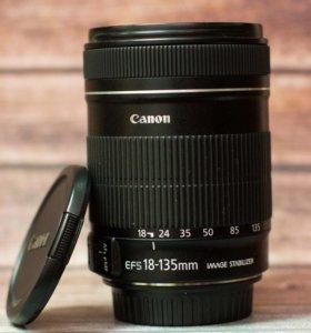 Объектив Canon EF-S 18-135 f/3.5-5.6 IS