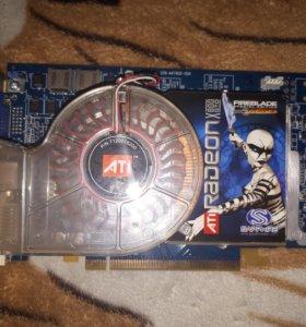 Видеокарта Radeon x800gto 256mb