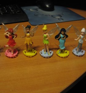 Игрушки Дисней фей 2014 года из киндер сюрприза