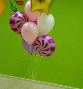 Новогодние гелевые шарики