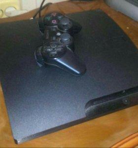 Playstation 3 slim 160 gb GTA5 и другие игры