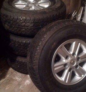 Колёса на Toyota Hilux