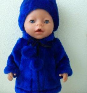 Шубки, одежда Baby born, Anabel
