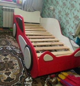 Кровать машина  наклейка 105
