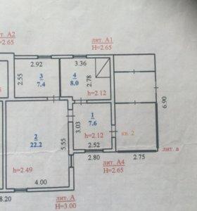 Дом, 45.2 м²