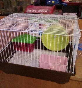 Клетка для грызунов 30*23*21 см