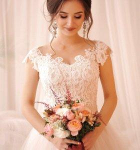 Свадебное платье+фата