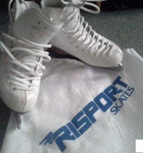 Профессиональные коньки risport для девочек