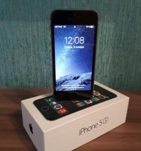 Apple Iphone 5S 32GB space qray.