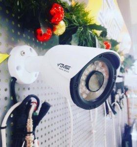 AHD Видеокамера цветная уличная DVC-S192 UTC