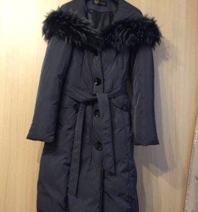 Пальто женское зимнее, пуховое