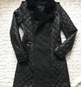 Кожаное пальто Vericci