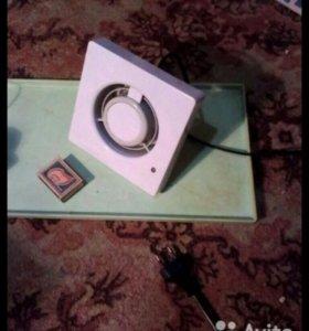 Умный вентилятор,влажность,таймер,Д100мм