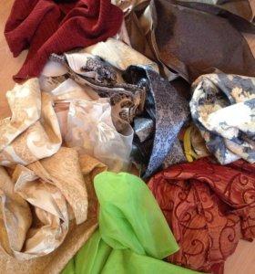 Лоскуты, куски ткани