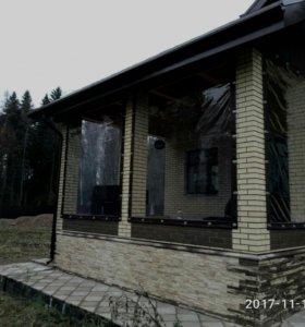 Мягкие окна для беседки веранды