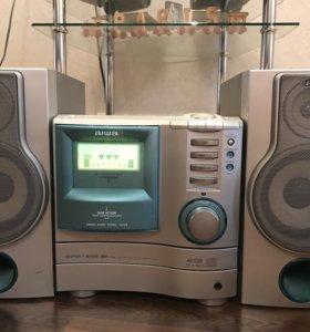 Музыкальный цент Aiwa -90x годов