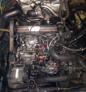 Мотор 1.9 пассат б4 б3