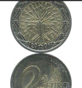 2 евро 2011 года