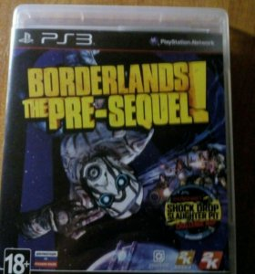 Диск Borderlands the Pre-Sequel