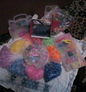 Набор резинок для вязание