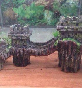"""Продам декорацию для аквариума """"Китайская стена"""""""