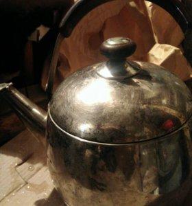 Чайник 4, 5 литра, нержавейка