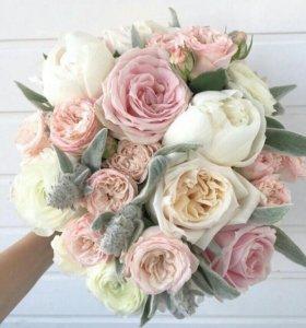 Букет невесты,цветы,флористика