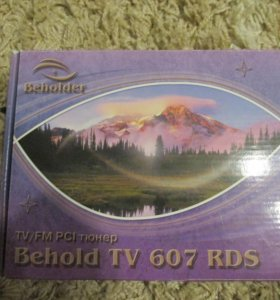TV, FM, PCI тюнер Behold tv 607 RDS