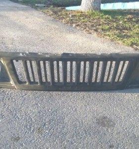 передняя решетка на ниву