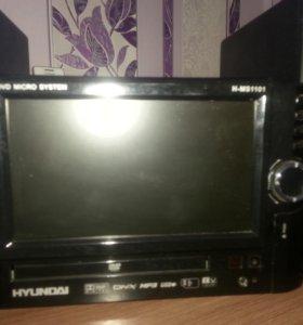Микросистема с DVD hyundai